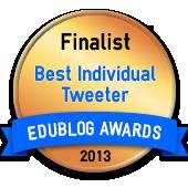 Finalist Best Individual Tweeter