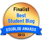 Finalist Best Student Blog