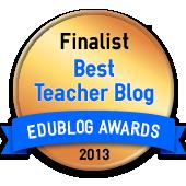 edublogs 2013 finalist