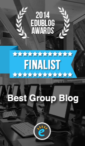 Finalist 2014 Edublog Awards - Best Group Blog