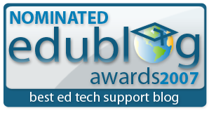 Edublogs awards