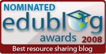 Edublog Awards Nomination